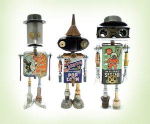 Roboter aus Dosen