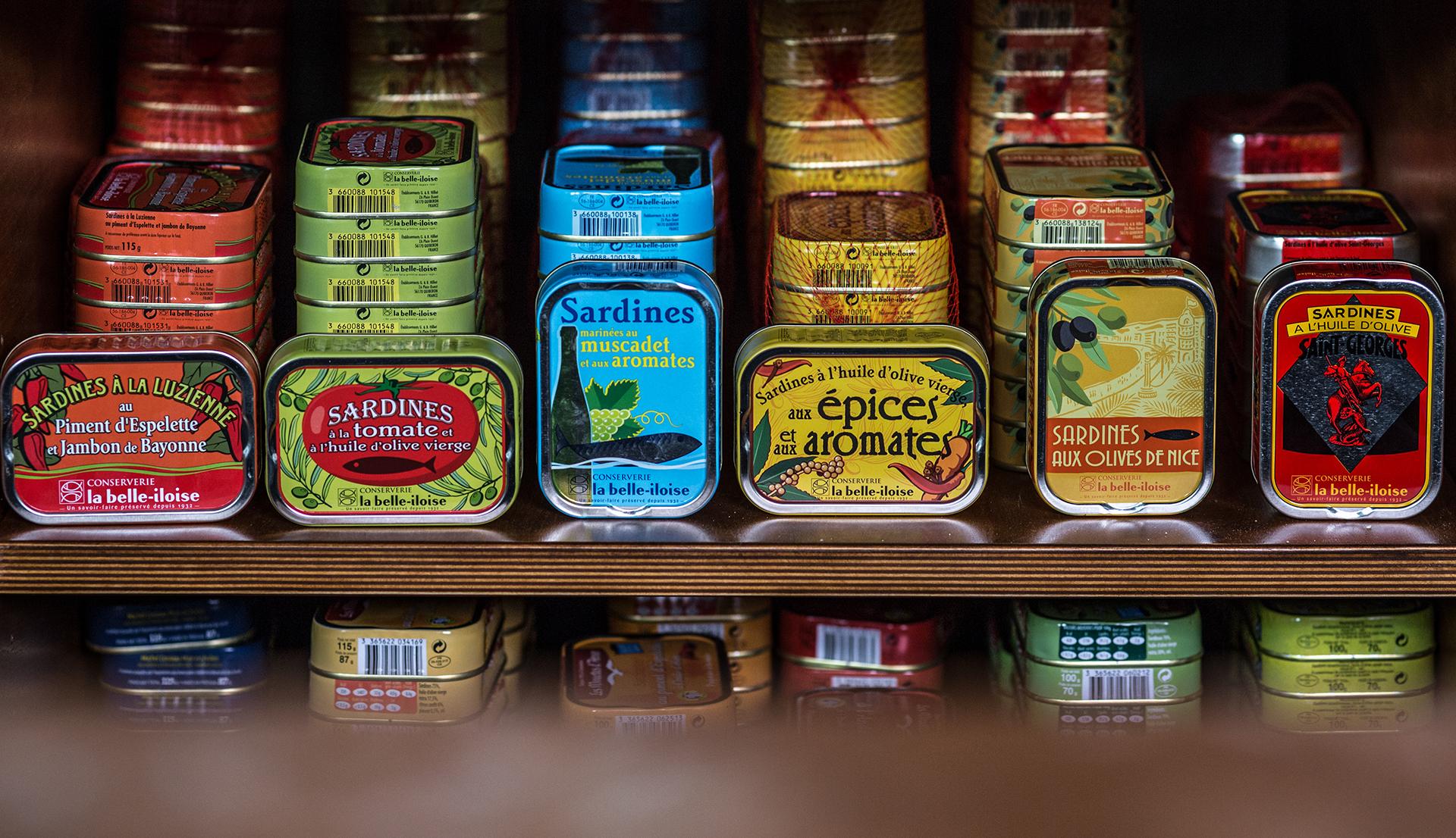 Jahrgangssardinen in kunstvoll verzierten Dosen: Szene-Gastronomie in Deutschland