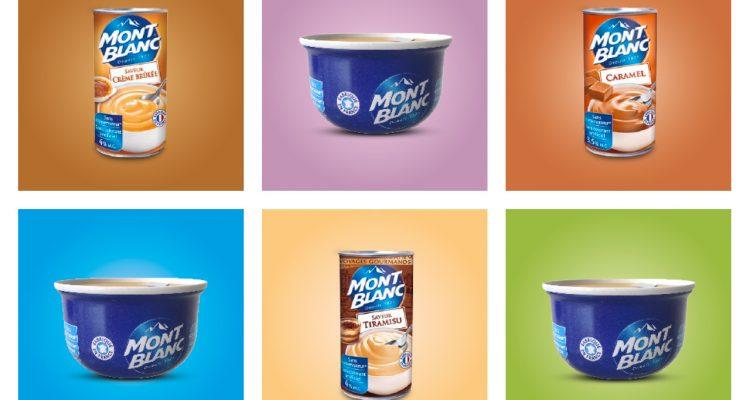 Mont Blanc Produkte in bunten Kacheln