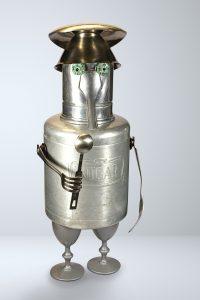 Roboter aus Zuckerdose