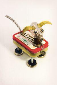 Roboter Hund aus Dose