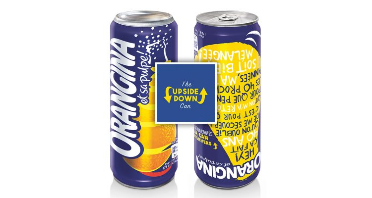 Upside Down Dose von Orangina