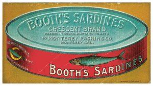 Von Sardinen- und Touristenschwärmen: Sardinendose, Ikone von Monterey