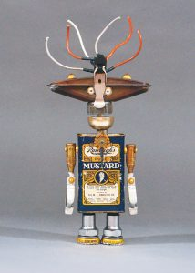 Roboter aus Senfdose